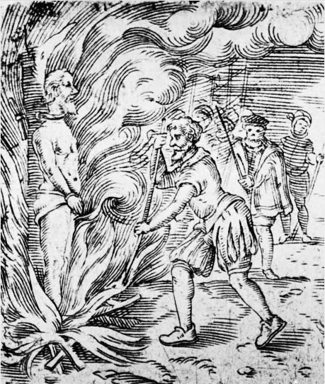 Servetus' execution
