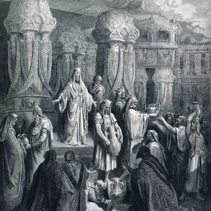 Cyrus restores the vessels of the Temple (Ezra 1)