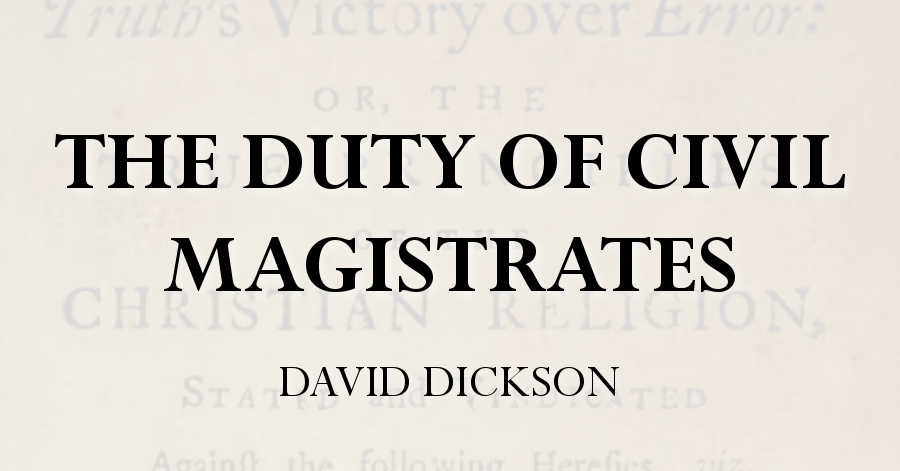 duty magistrates dickson