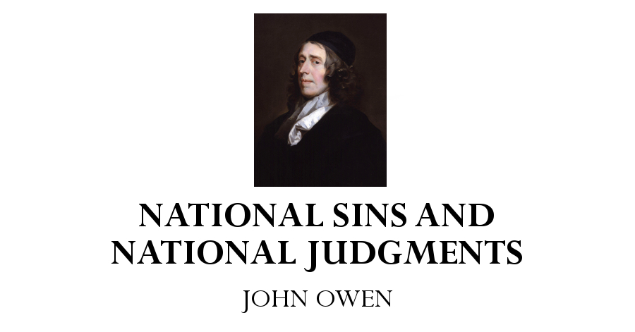 national sins and national judgments