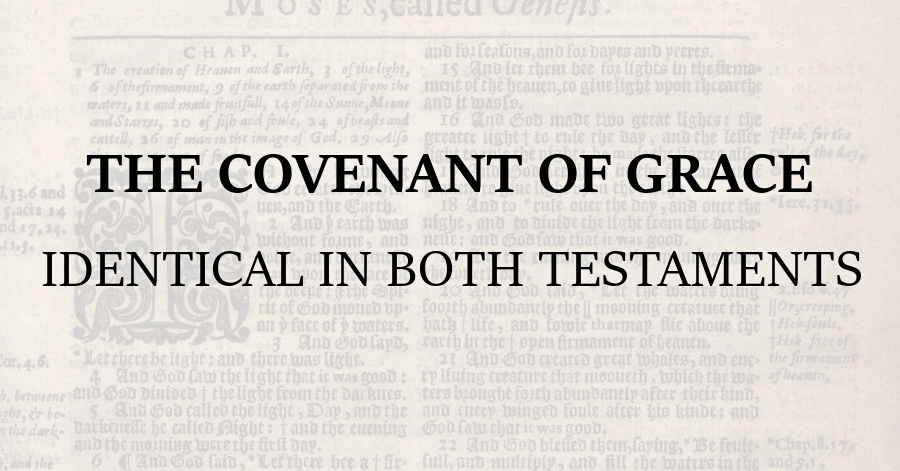 the-covenant-of-grace-identical-in-both-testaments