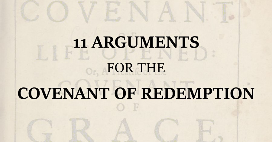 11 Arguments for the Covenant of Redemption