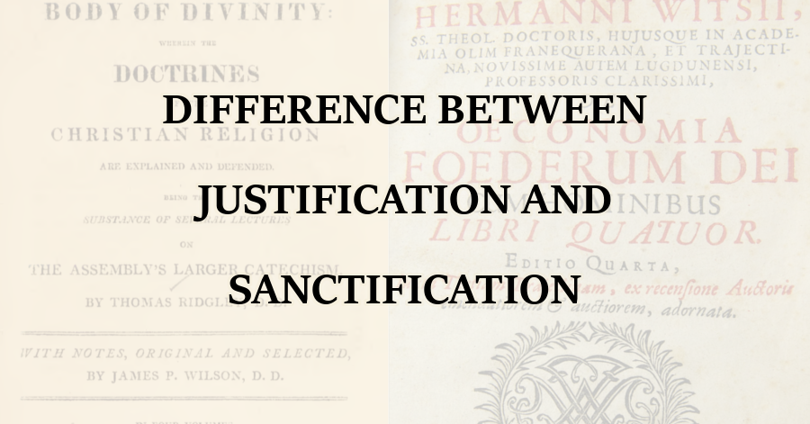 Difference Justification Sanctification