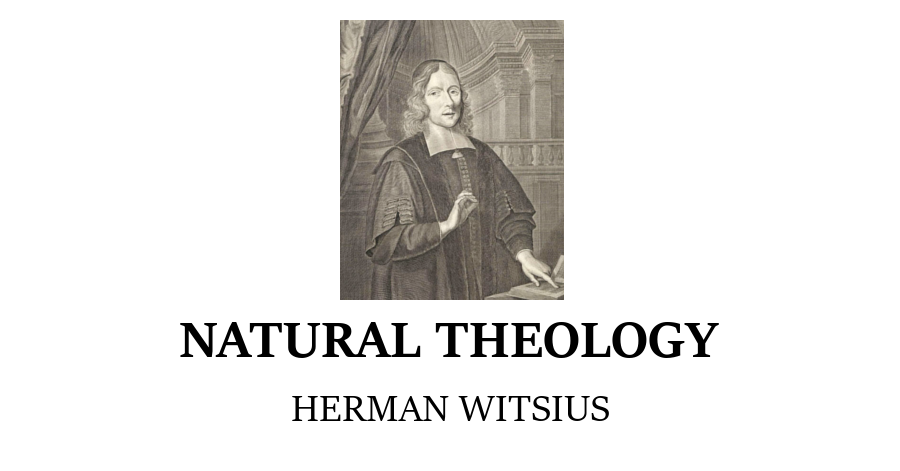 Natural Theology Herman Witsius