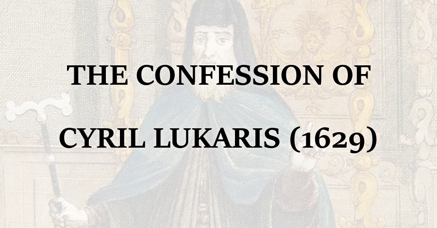 Confession of Cyril Lukaris