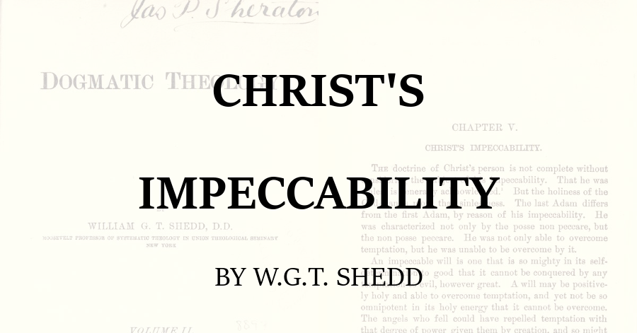 Christs Impeccability