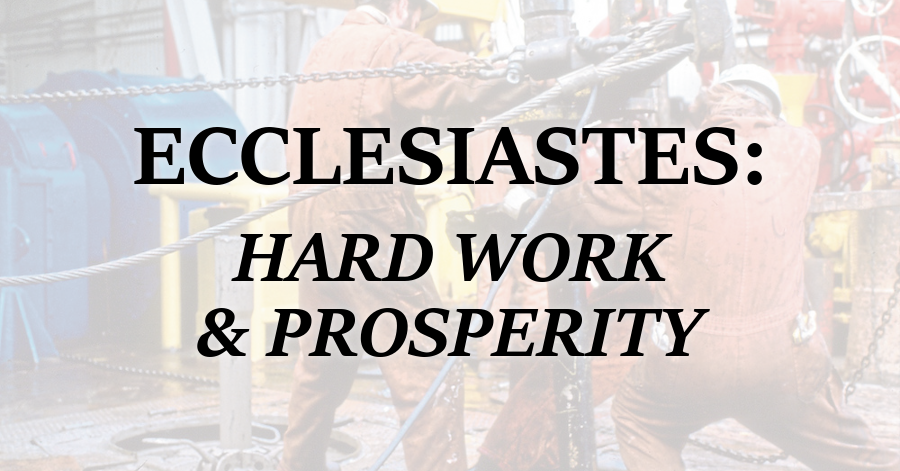 Ecclesiastes_Hard Work and Prosperity